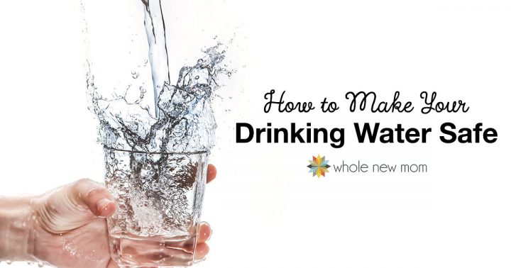How to make tap water safe