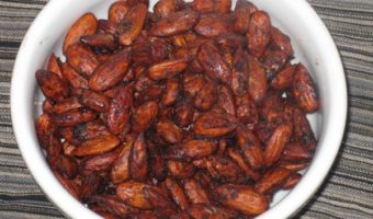 Carob Chocolate Coated Almonds