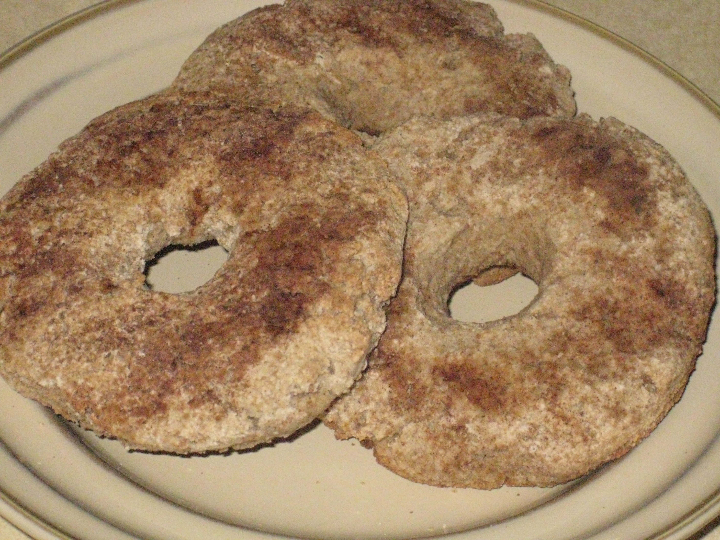 Baked Whole Grain Gluten-Free Doughnuts