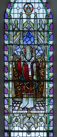 Saint Patrick's Day Stained Glass