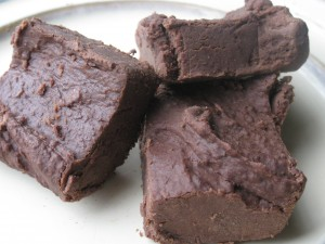 Dairy Free Chocolate Bean Fudge