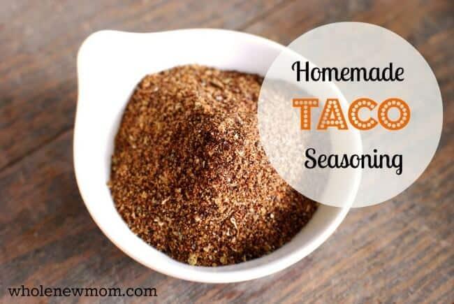Homemade Taco Seasoning Recipe Whole New Mom