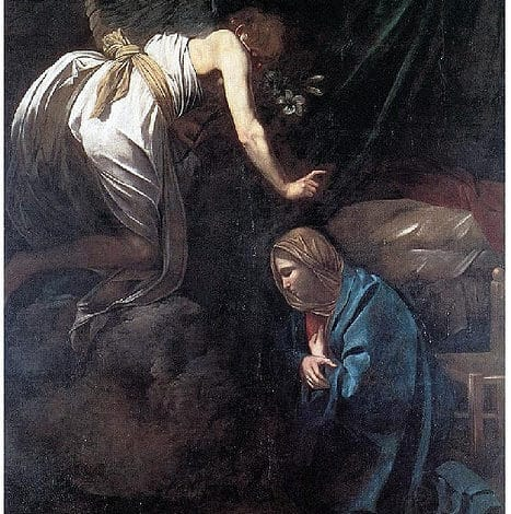Mary and Gabriel