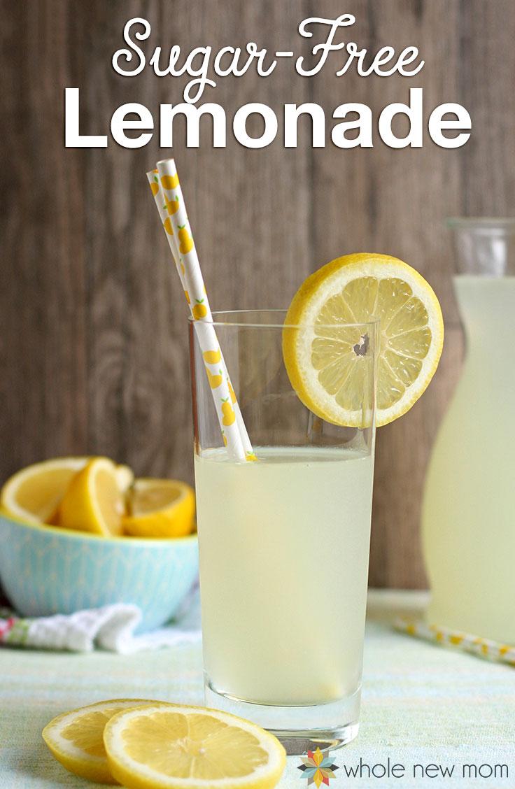 Sugar Free Dress: Homemade Sugar-Free Lemonade