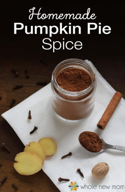 "Want to whip up a pumpkin treat, but don't have any ""pumpkin pie spice"" on hand? Here's how to make your own DIY pumpkin pie spice blend frugally – without any fillers – while still getting the same great taste!"