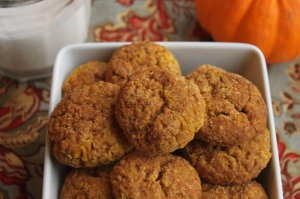 recipe snickerdoodles pumpkin cookies