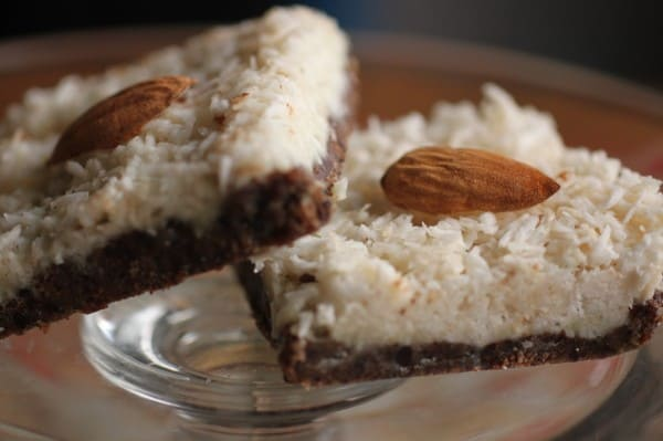 No Bake Almond Joy Bars