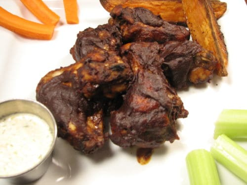 Chicken Mole Wings