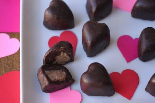 Chocolate Candy reese's cups homemade heathy sugar free