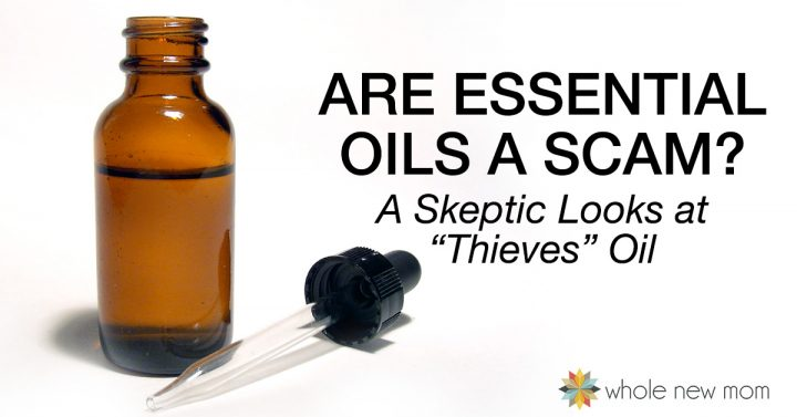 Brown Essential Oil Bottle with Dropper | Are Essential Oils a Scam?
