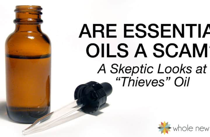 I thought essential oils were a scam. Then I got really sick and got to put them to the test. Did the Thieves Oil perform? Find out what happened next.