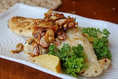 Fish Amandine