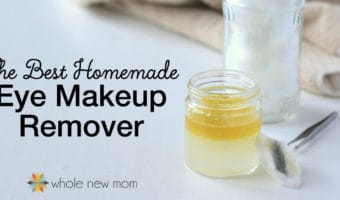 Did you know that there are 82,000+ chemicals in use in the US today, and only 1/4 of them have been tested for safety. I try to buy clean personal care products and make as many of them as I can. I tried a bunch of Homemade Eye Makeup Removers and this one worked the best. Ditch the toxins, save money, and make it yourself!
