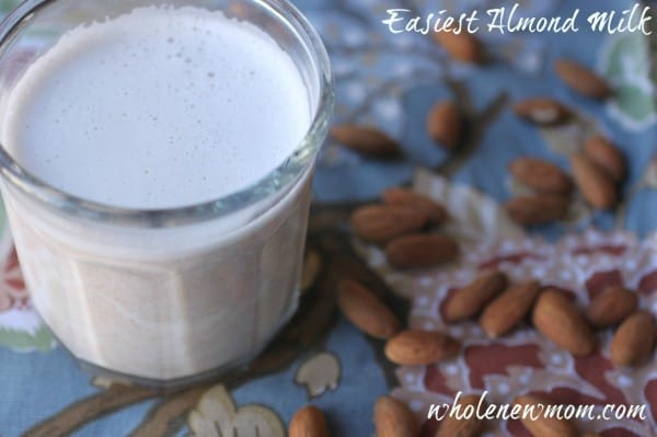 Almond Milk Recipe