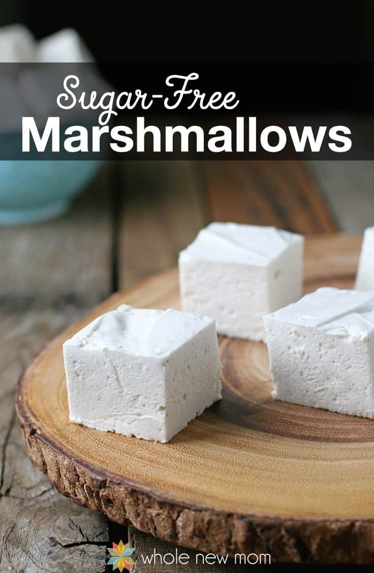 Homemade Marshmallows | Easy Sugar Free Recipes For Your New Year Diet