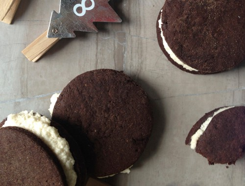 Gluten-Free and Vegan Peppermint Oreos