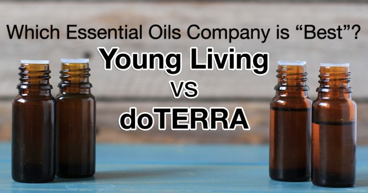 Amber Brown Essential Oil Bottles--Young Living vs DoTERRA