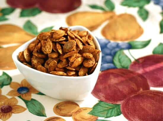 Curry Cinnamon Pumpkin Seeds