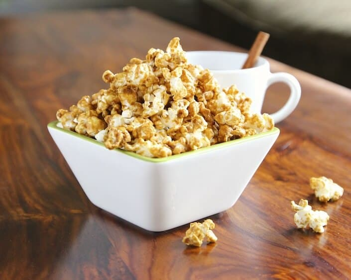 Homemade Caramel Corn