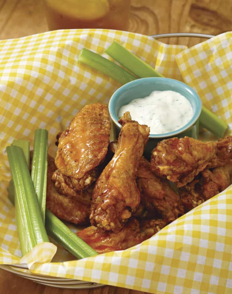 Allergy-Free Buffalo Wings