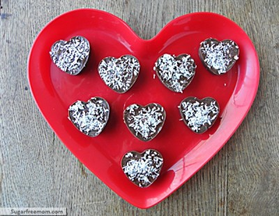 Valentine Coconut-Filled Candy