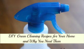 Natural Green Cleaning Recipes - Glass Cleaner, Shower Cleaner, Foaming Soap and Morer