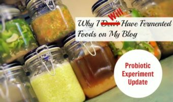 I was told I was allergic to fermented foods. But an expert in probiotics challenged me to take huge doses of fermented food probiotic to clean up my gut. Find out what happened next.