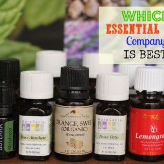 """Wondering Which Essential Oils Company is Best? What about the """"Therapeutic Grade"""" claims the MLM oils companies make? Come find out all you ever wanted to know about oils companies and more!"""