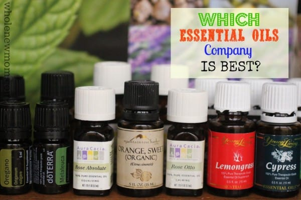 Essential Oil Bottles from a variety of companies | Which Essential Oils Company is Best?