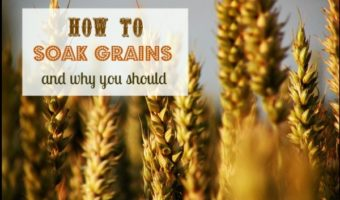 Got indigestion or other tummy troubles? Soaking grains can help - here's How and Why to Soak Grains. Your body will thank you for it!