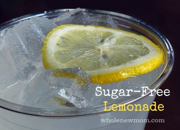 Sugar-Free Lemonade Recipe. Super Easy. Super Refreshing. This Homemade Lemonade is a great way to keep the heat and the munchies away :). I tend to pour some at night when I am temped to nibble.