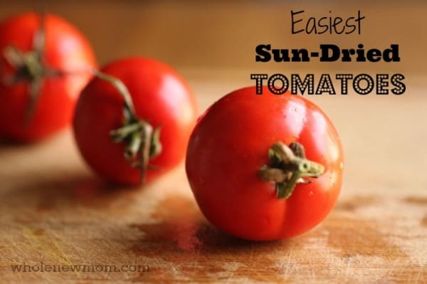 Tomatoes for Sun Dried Tomatoes