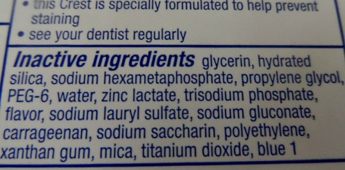 Toothpaste ingredients. Why I Stopped Making Toothpaste. Tooth Powder Recipe