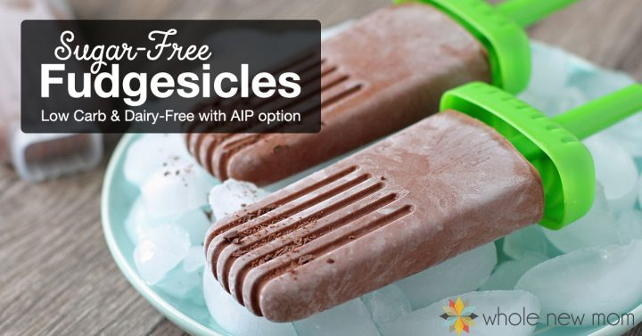 Sugar-free Fudgesicles