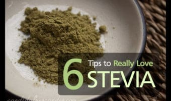 Don't Love Stevia? Here are 6 Tips to help you get there! Bet you haven't tried all of these ways to enjoy this great, zero calorie natural sweetener!