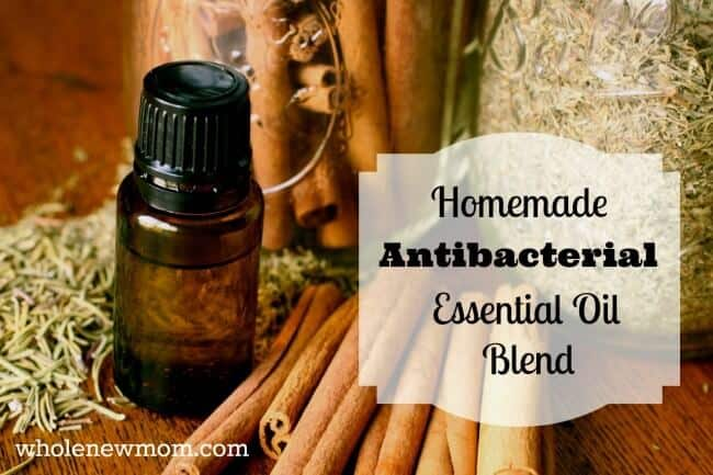 DIY Thieves Oil Blend - Make this Antibacterial Essential Oil Blend at home. Heal yourself and clean your home--naturally!