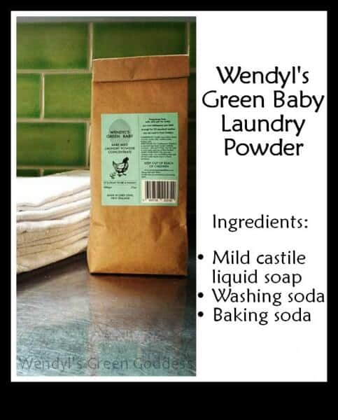 Laundry Powder gentle enough to use for baby!