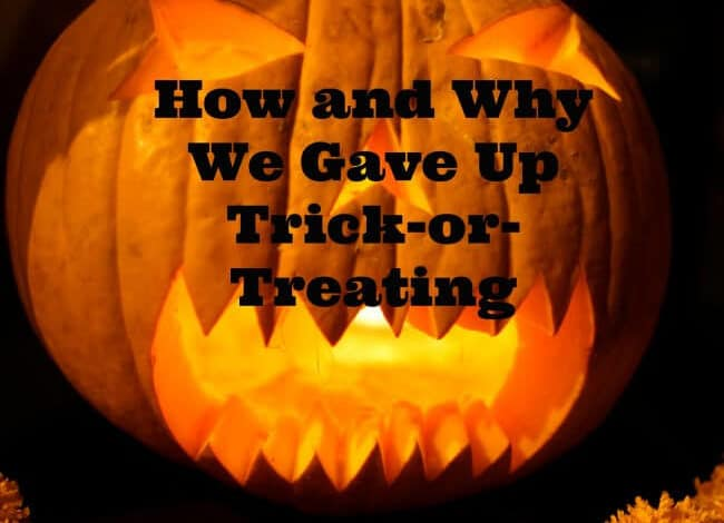 Do you celebrate Halloween? Find out How and Why one mom stopped Trick-or-Treating. Her Reasons were pretty troubling......