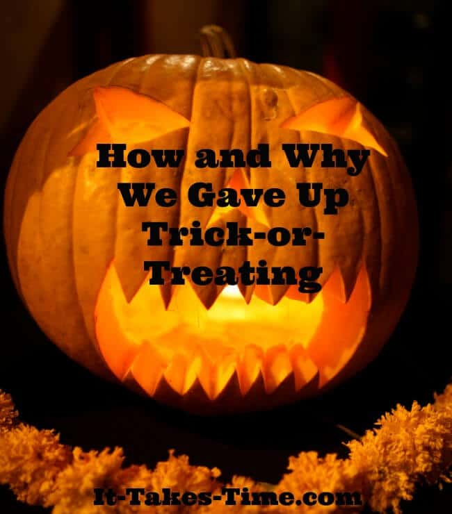 Do you celebrate Halloween? Find out How and Why one mom stopped Trick-or-Treating.