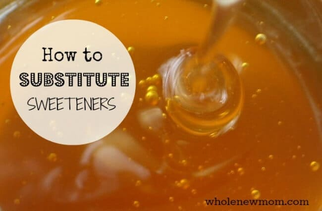 How to Substitute Sweeteners. From Baking with Honey to Substituting Maple Syrup for Sugar, all of the tips you need are right here.