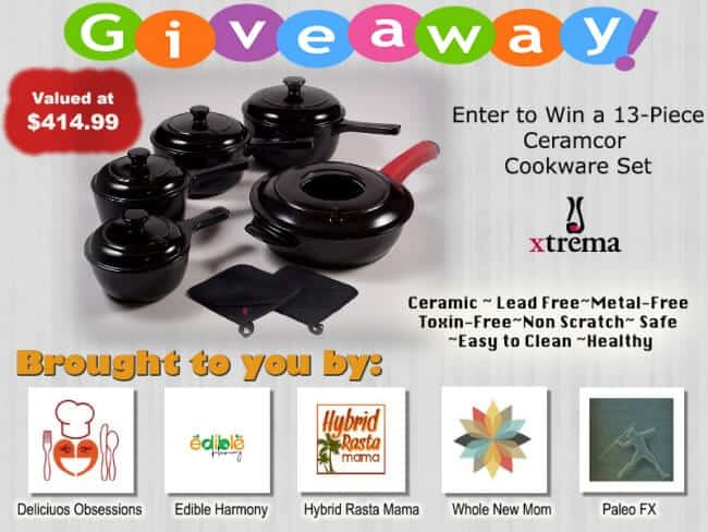 Safe Cookware Giveaway!