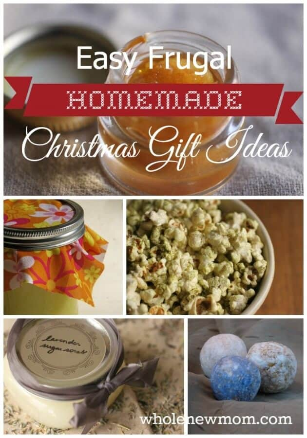 Easy Homemade Christmas Gifts! Homemade gifts from Scrubs to Soaps to Cookies and More!