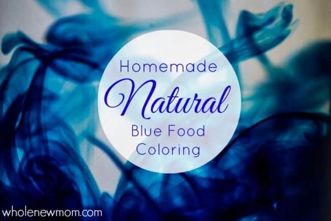 Natural Blue Food Coloring--from a Surprising Source!