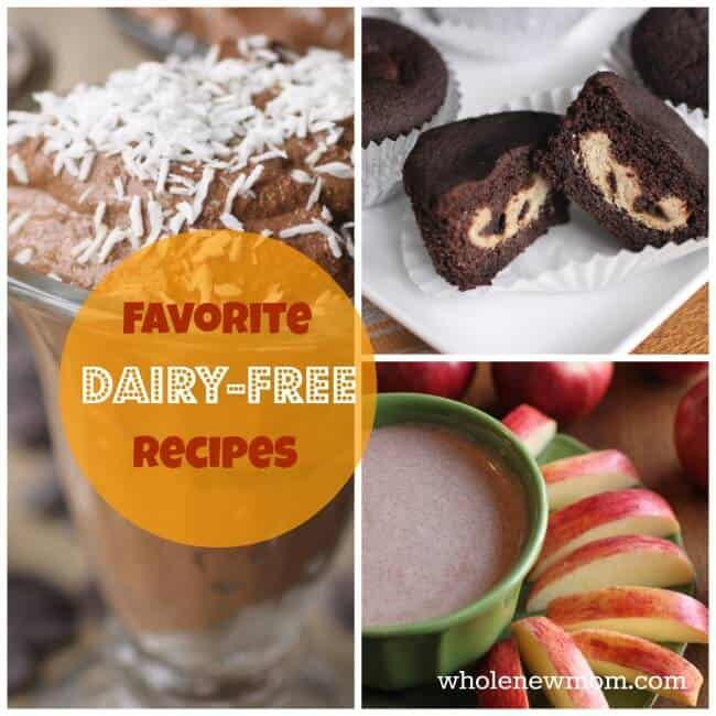 Dairy Free Recipes including great Dairy Free Desserts!