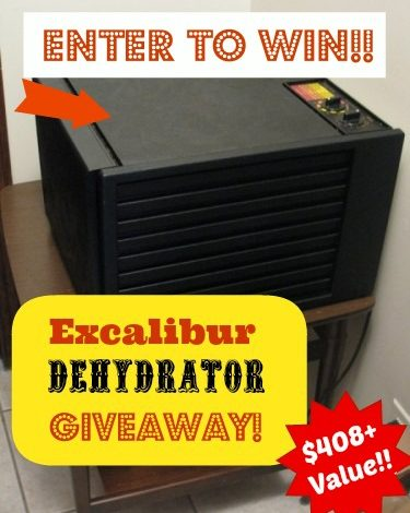 Get One of My Favorite Kitchen Tools! Excalibur Dehydrator Giveaway–$408+ Value