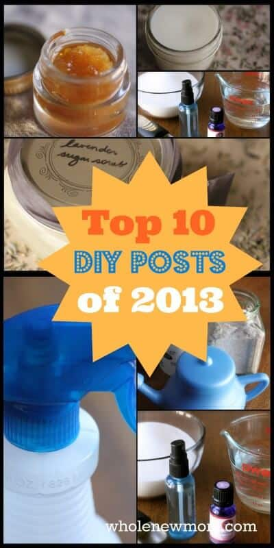 Want to Save Money in the New Year? -Top 10 DIY Posts of 2013 & 1 Thing I Won't Be Making