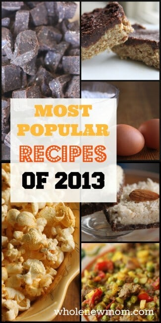 Need Some New Healthy Recipes?  Most Popular Recipes of 2013