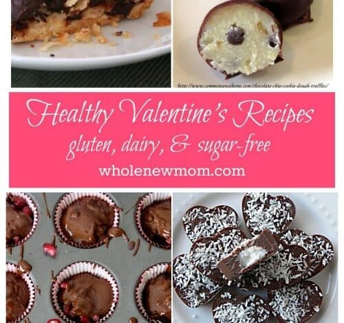 Seriously Tempting {and healthy} Valentine's Treats Galore