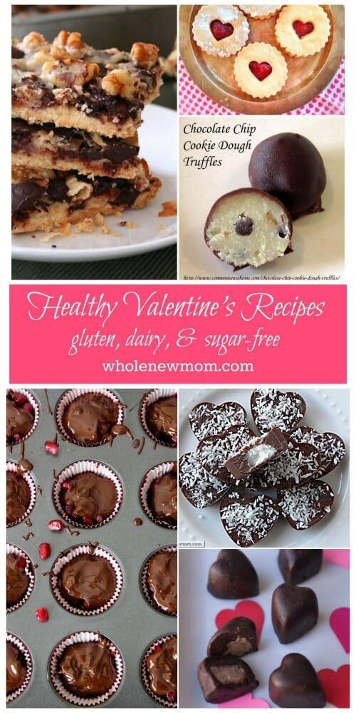 Healthy Dessert Recipes - Perfect for Valentine's Day.
