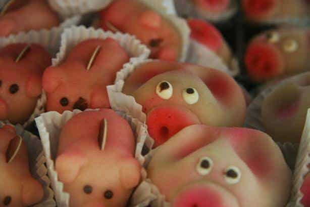 Marzipan Pigs - Read this Whole Food Fairytale featuring Marzipan!